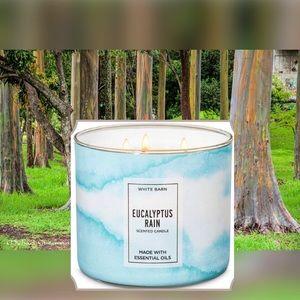 "NEW ""Eucalyptus Rain"" Candle"